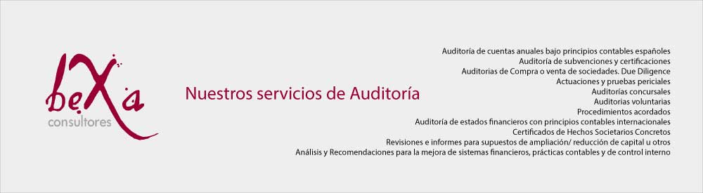 servicios de auditoria madrid, auditoria barcelona, auditoria españa